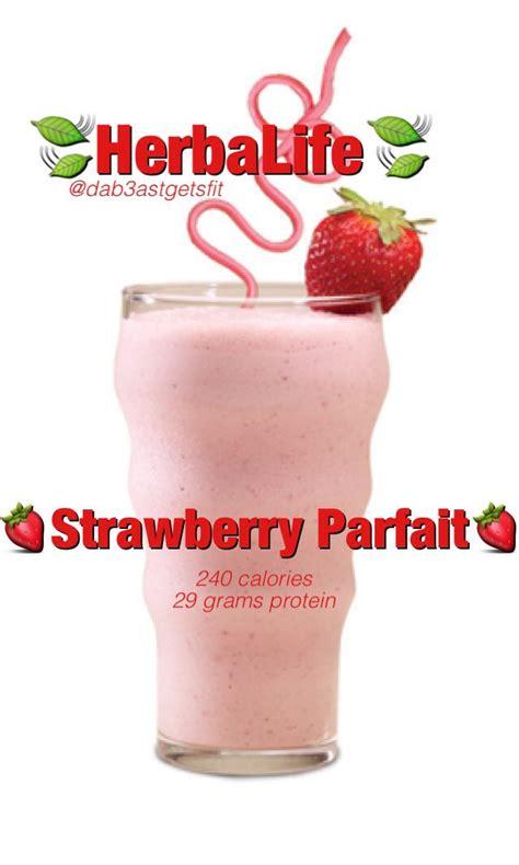 Herbalife Shake Strawberry 25 best vanilla herbalife recipes ideas on