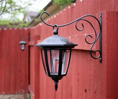 Patio Lights Hooks Dollar Store Solar Lights On Plant Hook This Idea