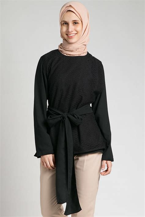 Pakaian Murah Baju Murah Ribbon Bell Top sell top lace ribbon tops hijabenka