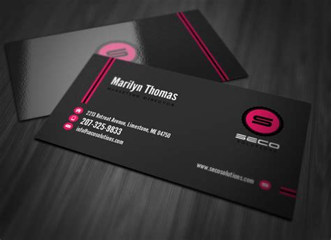 paint shop pro business card templates professional business card template vandelay design