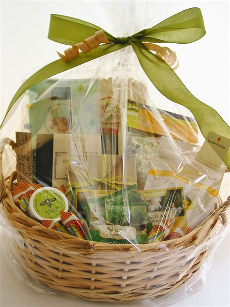 get well basket bumble b design