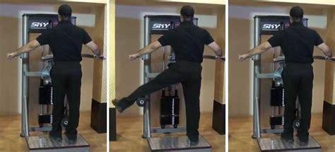 standing machine hip adductions bodybuilding wizard