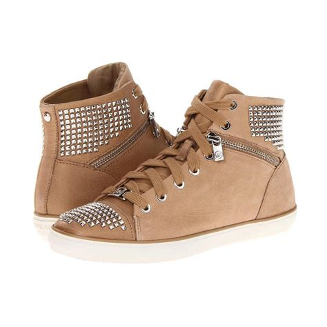 michael michael kors women s borerum studded high top