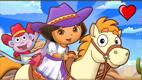dora y la aventura dora la exploradora dora aventura de caballo completo ᴴᴰ juegos para ni 241 os y ni 241 as youtube