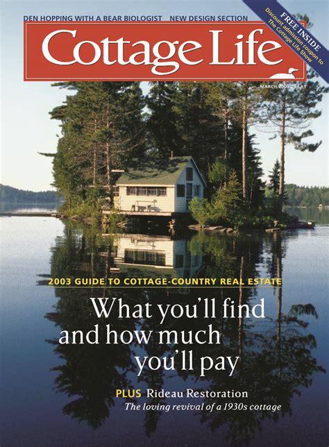 cottage living magazine subscription march 2003 cottage magazines cottage