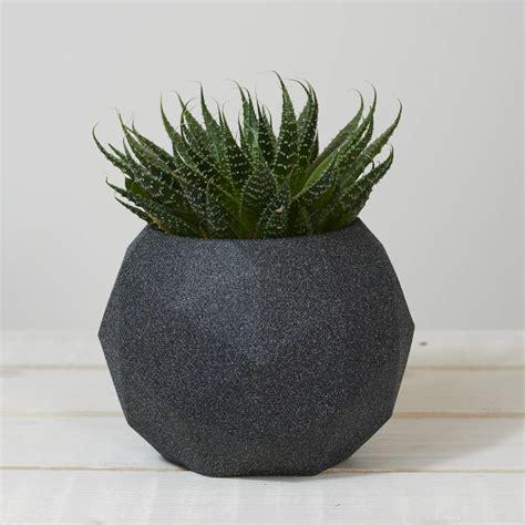Sphere Planter geometric sphere planter pot by jeometric notonthehighstreet