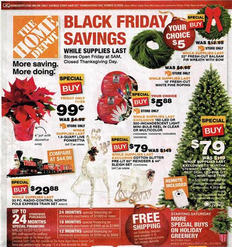home depot black friday 2014 deals for refrigerators big