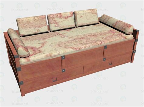 Model Sofa Bed 3d Model Sofa Bed 90x200 Vox Collection Imperium For Free