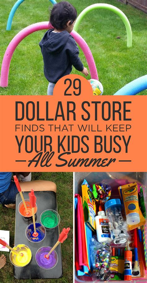 kids backyard store 29 dollar store finds that will keep your kids busy all