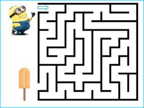 printable minion maze 17 best images about laberintos on pinterest maze back