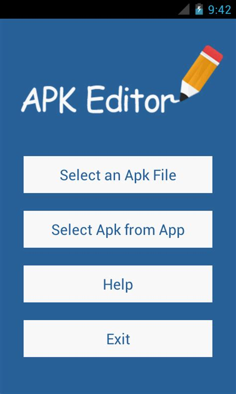 how to find apk files on android apk editor pro android apps on play