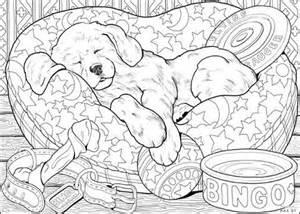 puppy art copic