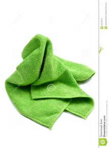 green cleaning rag stock photos image 23579173