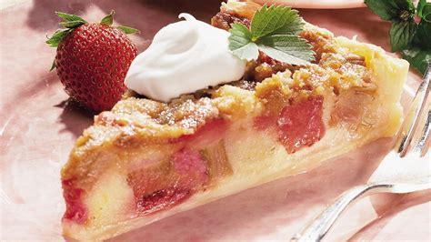 rhubarb brunch cake recipe from pillsbury com