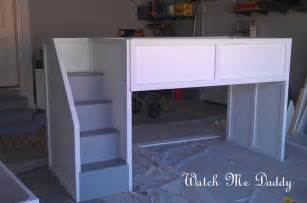 Low loft bed three level bunk bed and loft bed plans toocraft com