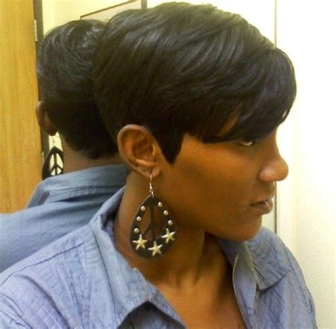 15 best ideas of short hairstyles for black round faces 15 best of short black bob haircuts