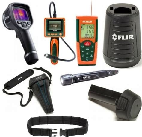 Laser Distance Meter Extech Dt200 by Flir 63902 Hit Home Inspection Troubleshooting Package