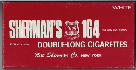 Sherman 164 Cigarettes | 164 sherman s white usa cigarettes pedia