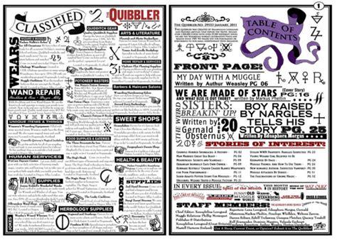 printable quibbler articles articles de hogwartsandcie tagg 233 s quot quibbler january