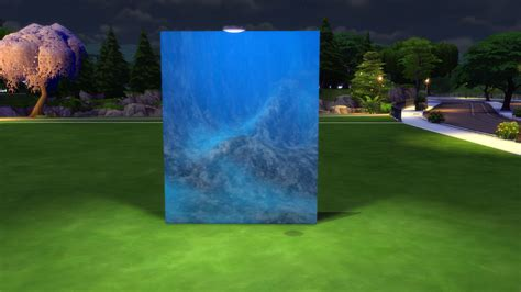 Paint Wall Murals mod the sims under the sea part ii underwater walls