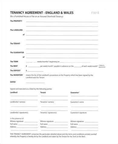 sle letter to end tenancy from landlord uk tenancy agreement template pdf 28 images assured