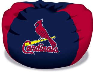St Louis Cardinals Bean Bag Chair by St Louis Cardinals Bean Bag