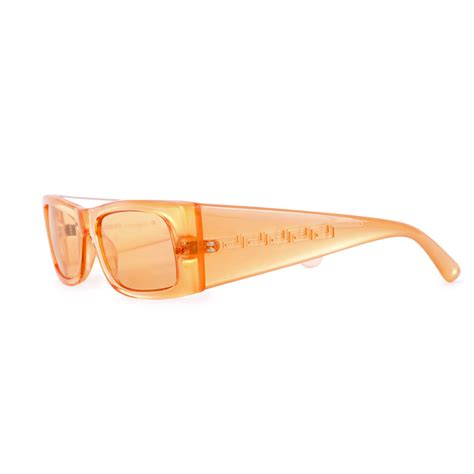 greek key motif versace retro greek key motif sunglasses orange luxity