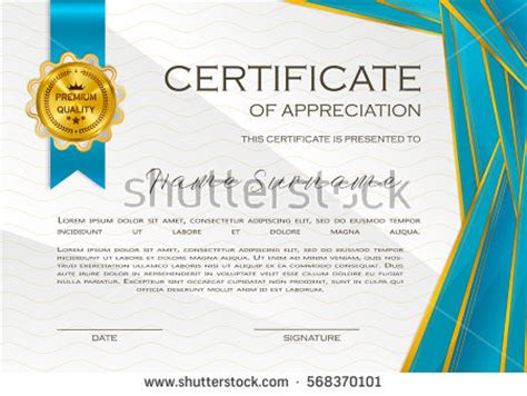 design certificate of appreciation qualification certificate appreciation design elegant