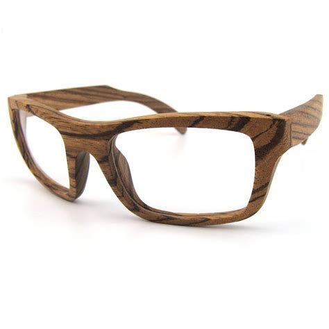 real wood optical frames big curve frames for prescription