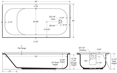 standard bathroom dimensions standard bathtub dimensions pmcshop