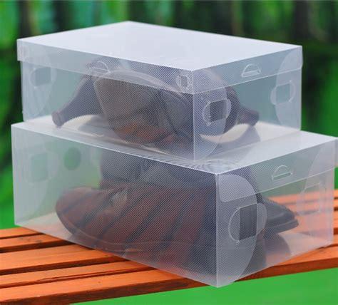 Promo Kotak Sepatu Plastic Box Shoes Transparant Sandal Warna Warni free shipping transparent plastic shoes boxes clear pp shoes storage boxes foldable plastic