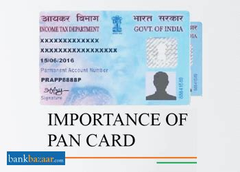 uses of pan card know the advantages & importance of pan