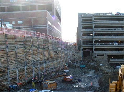 Parking Garages Portland Maine by Shaw Brothers Construction Maine Center Parking