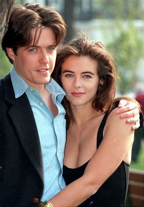 best hugh grant elizabeth hurley gushes ex boyfriend and best friend