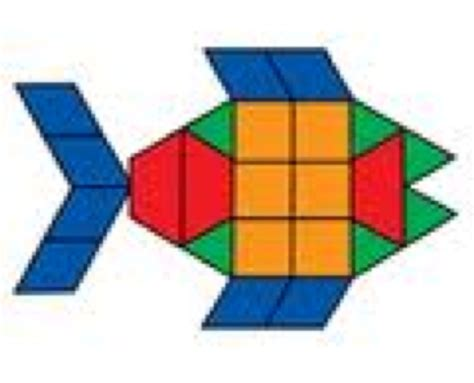 pattern block tessellations exles mathreuls licensed for non commercial use only pattern