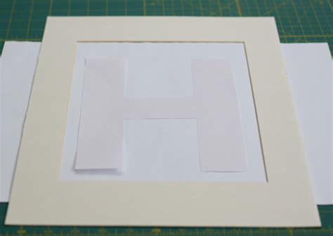 How To Remove Simple Mat From Wall by Diy Framed Letter Wall