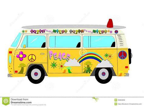 volkswagen van with surfboard clipart hippies clipart volkswagen van pencil and in color