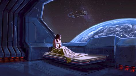 spaceship bedroom full hd wallpaper spaceship bedroom window planet art