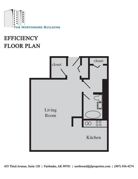 efficiency floor plans fairbanks alaska apartments northward building efficiency