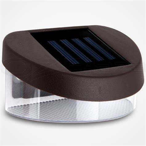 Solar Gutter Lights by Ebay