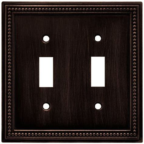 brainerd light switch covers brainerd 64409 beaded double switch wall plate switch