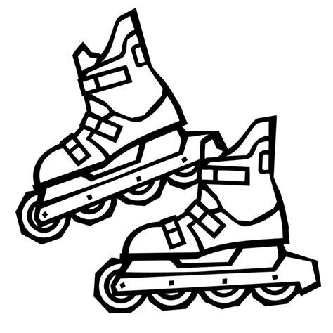 imagenes para colorear rueda imprimir dibujo de patines de ruedas para pintar dibujos