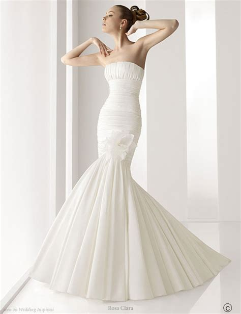 smart wedding ideas mermaid style wedding gowns 2011
