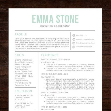 Creative Resume Templates For Mac by Creative Resume Templates Free Mac Image Collections
