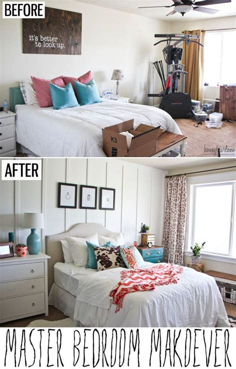 bedroom before and after three inspiring before and after bedroom renovations on a