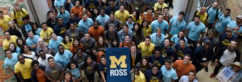 Mba Ross Courses by Michigan Ross Has One Of The Best Mba Program Cultures