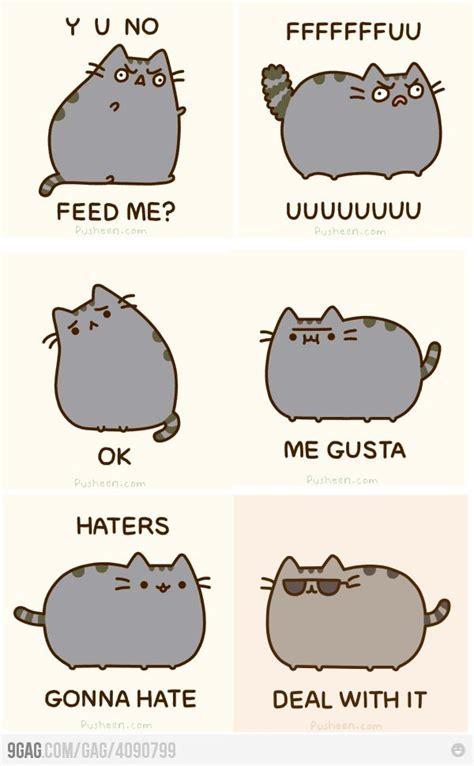 Pusheen The Cat Meme - jap s corner pusheen s different memes