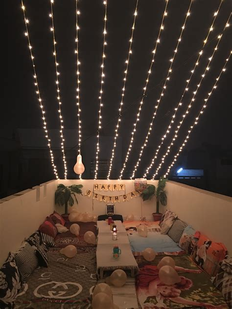 terrace party at home   terrace party   Pinterest
