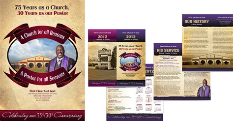 church booklet template webphotographix corporate identity and event branding