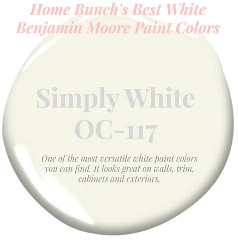 best white trim paint best white paint colors by benjamin moore home bunch